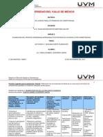Formato para Planeación de competencias. Parte B actividad 3.1