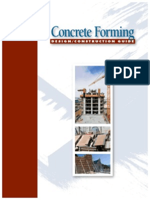 APA V345 Concrete Forming Design Construction Guide