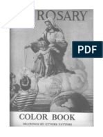 Rosary Color Book Sorrowful Mysteries
