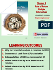 Chapter 8 - ROR Analysis for Multiple Alternatives