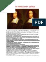 El Amor Intelectual en Spinoza
