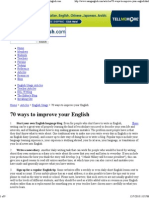 70 Ways to Improve Your Eng..