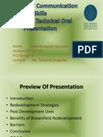 technical oral presentation