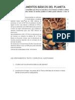 Alimentos Basicos Del Planeta rio