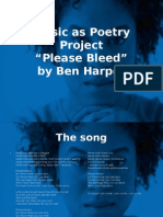 Music as Poetry Example