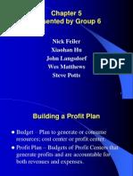 Chapter 5 - building profit plan