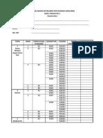 Senarai Semak Pbs Sains t2 Terkini