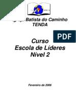 Escola de líderes - nível 02