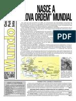 Jornal O Mundo - Número 1 do Ano 1