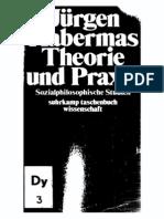 Habermas 1963 Theorie Und Praxis