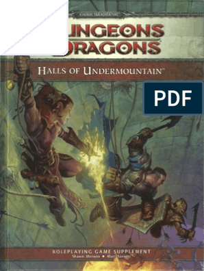 Halls of Undermountain | Drow (Dungeons & Dragons) | Dungeons & Dragons