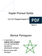 Kepler Poinsot Solids