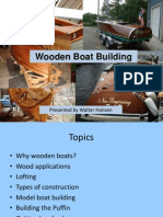 Wood Boat Building 2