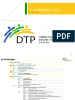 Buku Panduan Program Transformasi Daerah (Dtp)