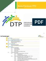 Buku Panduan Program Transformasi Daerah (Dtp)