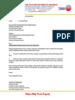 Surat Permohonan - Lawatan Kebajikan 2014