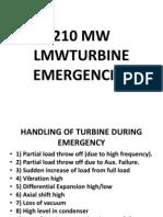 210 Mw Lmw Turbine Emergencies