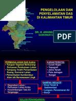 Presentasi DAS - Daerah Aliran Sungai