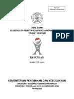 Jawab Soal OSP 2013 Kebumian
