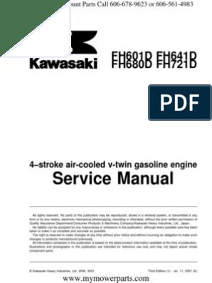 Fh601d Fh641d Fh680d Fh721d Kawasaki Service Repair Manual