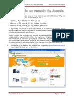 Instalacion Remota Joomla Windows