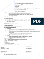 RPP Matematika Kls-8