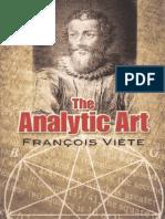 T. Witmer (Transl) - The Analytic Art_Francois Viette