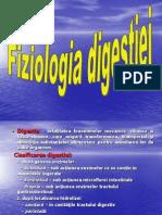 Fiziologia digestiei