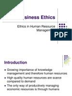 06 HRM Ethics