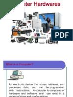 Presentation on Computer Hardware