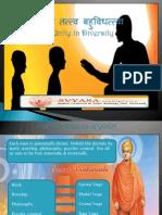 Eka Tattva Bahuvidhattva- Unity in Diversity