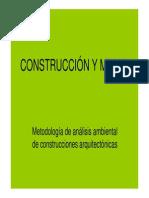 Construccion y Medio