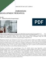 Penelitian Pengembangan (Development Research)