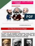 Os Classicos Da Sociologia Marxx