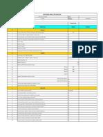 RFI Ckeck List