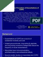 Bode M.azithromycin for Prevention of COPD Exacerbations.082511