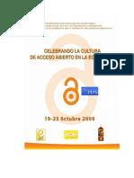 Acceso Abierto ProgramPrel 8 Oct 2009