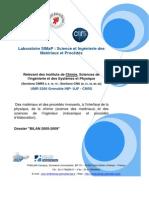 2.1 Rapport Bilan SIMAP-2005-2009