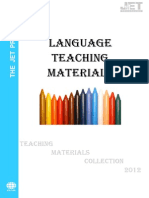 3language Teaching Materials