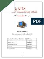 CMP Lab Report