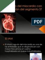 Infarto del miocardio con elevación del segmento ST.pptx
