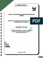 ET Derivacion Del Canal Vilcar