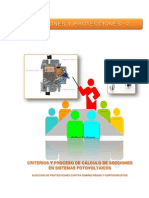 Criterios y Proceso de Calculo de Secciones