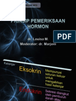 Prinsip Pemeriksaan Hormon - Louisa
