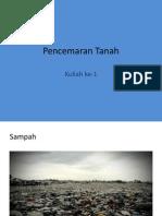Pencemaran Tanah1