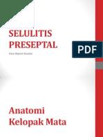 SELULITIS PRESEPTAL