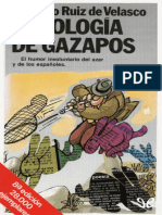 Antologia de Gazapos - Eduardo Ruiz de Velasco