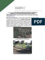 INTA- Zapallo Ancos Informe Parcela Demostrativa en Los Cisnes