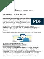 Hipermídia… o que é isso_ _ Hipermídia