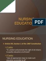 Nursing Education (CA)